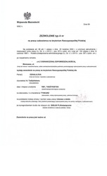 Разрешения на работу в Польшу от воеводы гр. Узбекистана