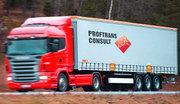 Водитель-международник,  дальнобойщик кат. С+Е в Норвегию